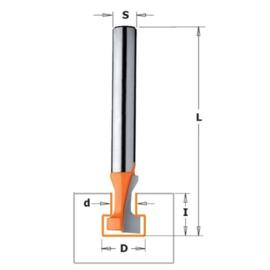 Sleutelgatfrees HWM S=12 d=4.76 D=9.5 CMT
