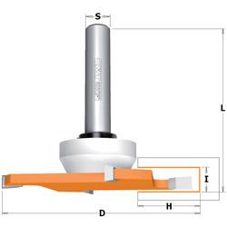 CMT Schijffrezen voor massief plaatmateriaal