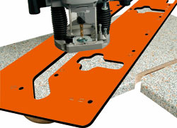 Freesmal voor werkbladen van 420mm tot 650mm