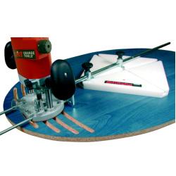 Boog- en cirkelfreesgeleider