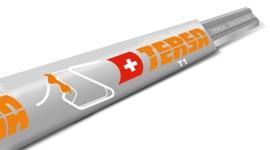 T1 - Een versterkt chroomstalen mes, geschikt voor zachte en normale houtsoorten