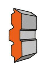 Set (2 stuks) HPS Centrofix/Centrostar/Quickfix schaafmessen 620x12x2.7