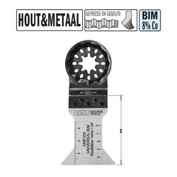 CMT BIM Multitool-zaagbladen B=44mm