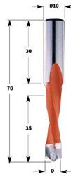 CMT Drevelboren Xtreme S=10x30 L=70