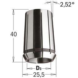 Spantang DIN-6388 EOC-16 D=6 LT=40