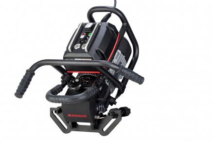 B60S  laskantenfreesmachine met een zeer krachtige 1800 W motor