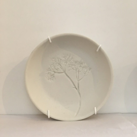 Bordje met plantenafdruk Small- Studio Harm&Elke