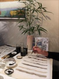 Workshop 'Pruimenbloesem' van Jolanthe Toxopeus