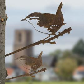 Winterkoninkje - Metal bird