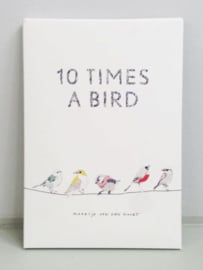 Tien keer een vogel - Maartje van den Noort