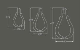 Lamp Grotere peer - LumiEus