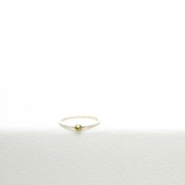 Ring met balletje - Nolda Vrielink