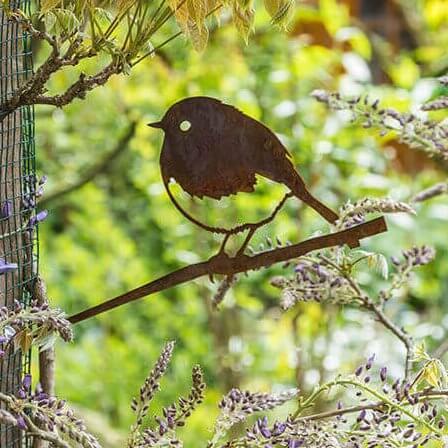 Roodborst - Metalbird