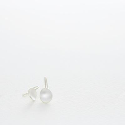 Lepeloorbellen zilver - Nolda Vrielink
