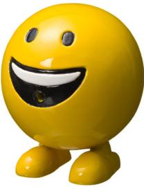 Be Happy spuitfiguur Ø25cm x H29cm geel