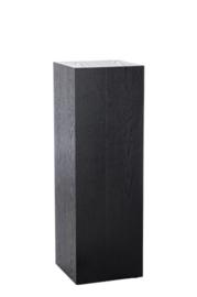 Sokkel vierkant zwart 30x30x90cm