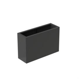 bloembak aluminium 120x40x80cm