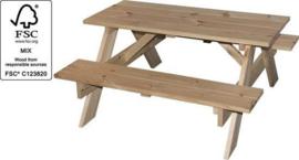 Picknicktafel 90x85x46cm Kinder model