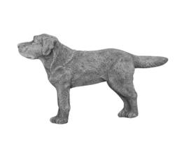 Labrador retriever, beton BxH 34x21cm