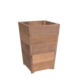 bloembak hardhout 50x50x62cm