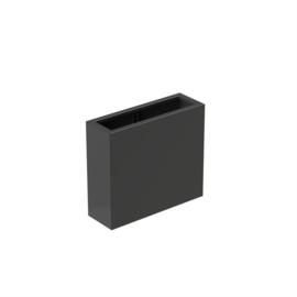 bloembak aluminium 90x30x80cm