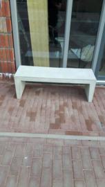 Tuinbank beton 120x45x45cm