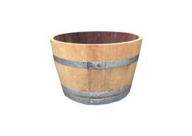 Bloembak wijnvat Ø70 x H45cm