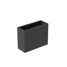 bloembak aluminium 100x40x80cm