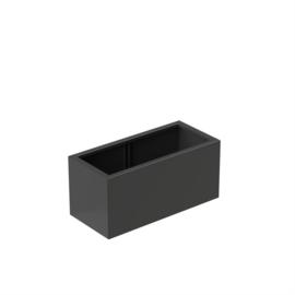 bloembak aluminium 150x50x60cm