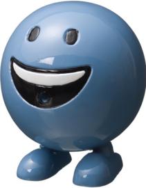 Be Happy spuitfiguur Ø25cm x H29cm blauw