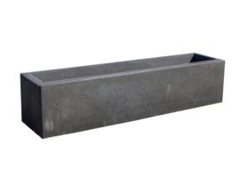 Bloembak beton 200x50x50cm antraciet