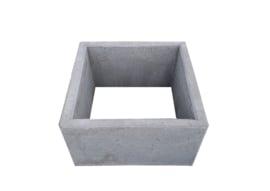 Boombak beton 100x100x60cm grijs zonder bodem
