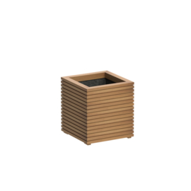 bloembak hardhout 60x60x65cm