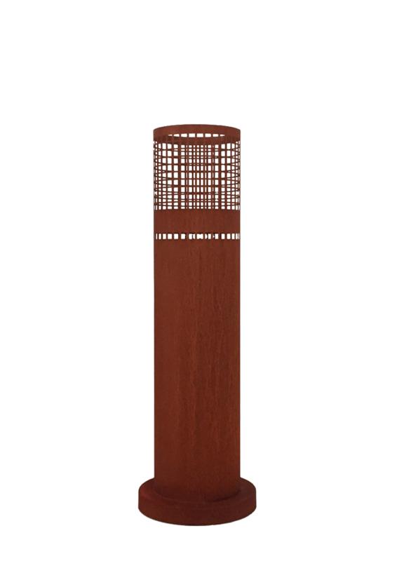 Vuurzuil cortenstaal Ø33,5 x H 100cm