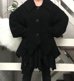 Vincenzo Allocca  boucle korte jas apart zwart