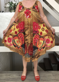 Mona  viscose jurk
