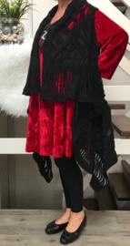Moonshine oversized gebreide wollen vest/gilet /in meerdere kleuren