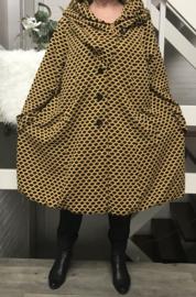 New Jersey  A-lijn jas/mantel met capuchon ( extra groot)