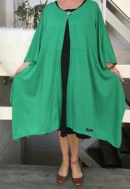 Martha oversized jersey  A-lijn blazer (extra groot) apart