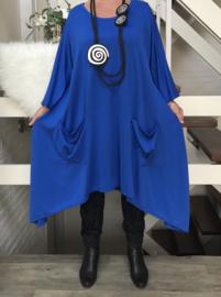 Maxima oversized A-lijn jersey jurk apart (extra groot)