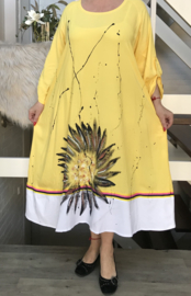 DARWIN A-lijn katoen jurk