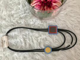 Fashion design jewellery rubber collier 102