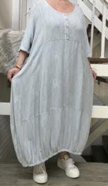 SINNE design.. A- lijn linnen /viscose jurk