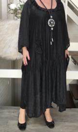 Michelle oversized  A-lijn kanten jurk /wrap  apart (extra groot)