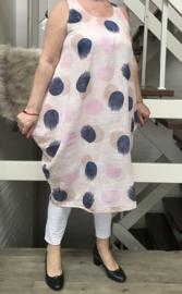 ITALIA katoen A-lijn jurk