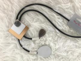 Fashion design jewellery rubber collier 061