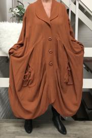 Moonshine katoen blazer/jas ( extra groot)/in meerdere kleuren