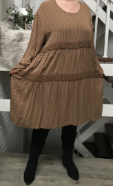 ITALIA viscose A-lijn jurk/tuniek