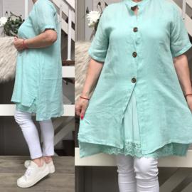 ITALIA  linnen jurk/hemd