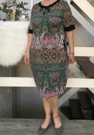 ITALIA oversized  tricot katoen jurk/tuniek